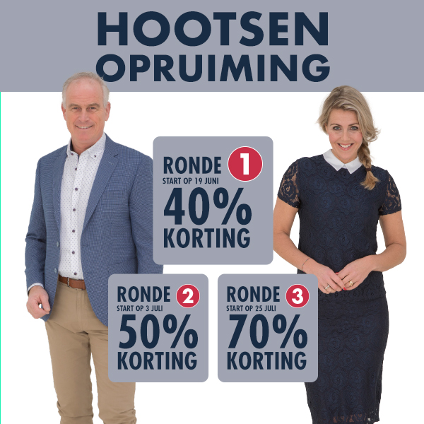 Start opruiming ronde 2: nu 50% korting